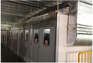 广州旭硝子丰田玻璃厂实验室案例